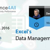 Excel's Data Management Tools in 2016 by Compliance4all