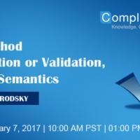 Is it Method Verification or Validation, or Just Semantics