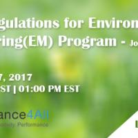 FDA Regulations for Environmental Monitoring(EM) Program