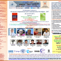 International Conference on Advanced Computational and Communication Paradigms  (ICACCP)