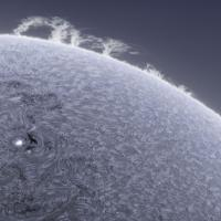 Spectacular Images of Sun