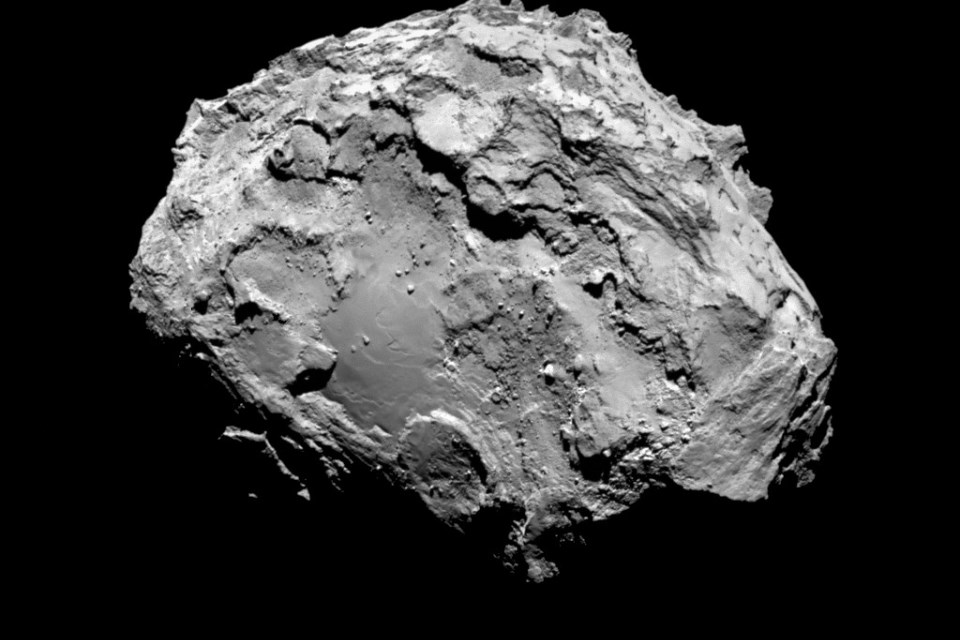 Rosetta arrives at comet for a close-up look