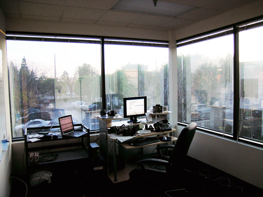 Office windows may change your health