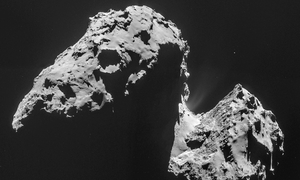 Data from Rosetta spacecraft yields secrets about comet's water