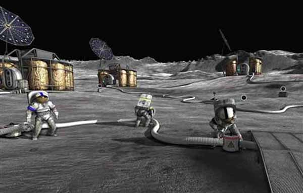 Mining the Moon becomes a serious prospect