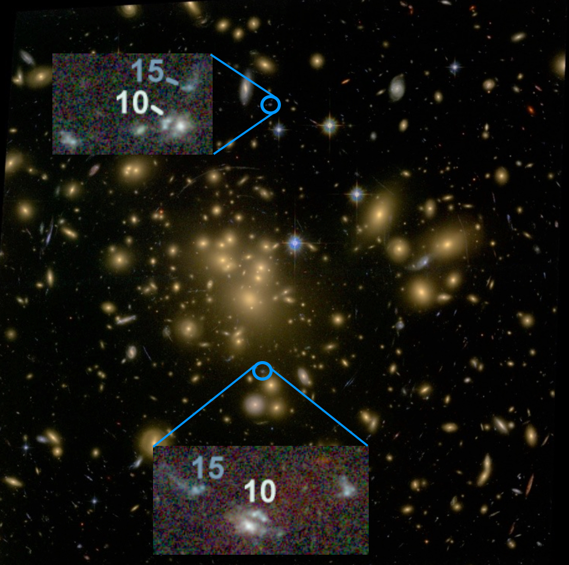 Galaxy Clusters Formed as 'Fireworks'