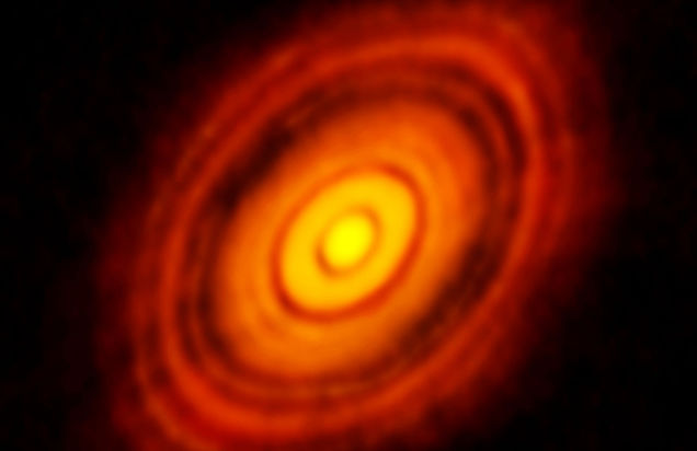 Astrophysicists capture first image of planet being formed