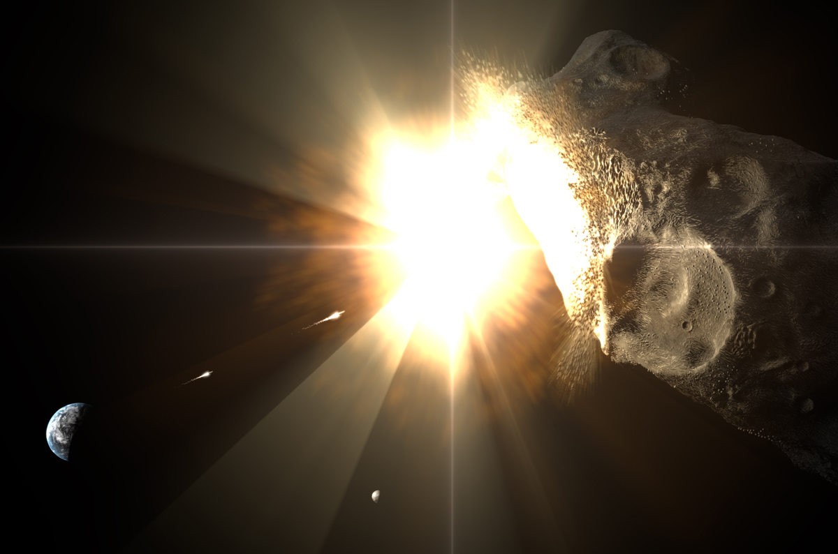 Scientists are planing for mission to push asteroid off-course