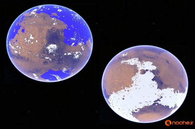 Ancient Mars was not wet but covered with ice, study claims