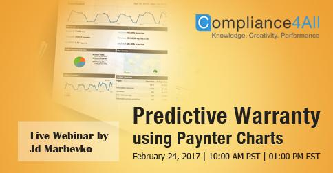Predictive Warranty using Paynter Charts